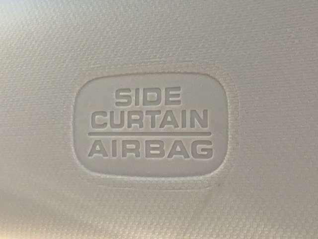 サイドエアバック、サイドカーテンエアバック装備で安全性も高くなっています。