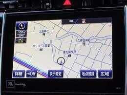 メーカーオプションのSDナビゲーション!CD・DVD再生・CD録音機能・地デジ・バックカメラ搭載!