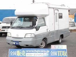 マツダ ボンゴトラック ロータスRV マンボウ ソーラーパネル FFヒーター 冷蔵庫 ナビ