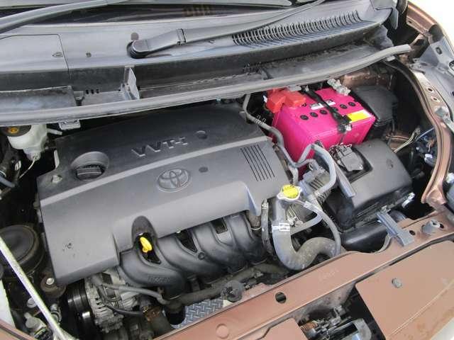 エンジンは、1.5L 直列4気筒DOHC(109馬力)
