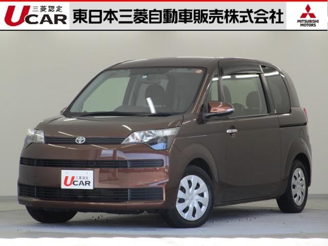 平成26年式(2014年)トヨタ スペイド 2WD グレードF  弊社下取り車入荷です♪