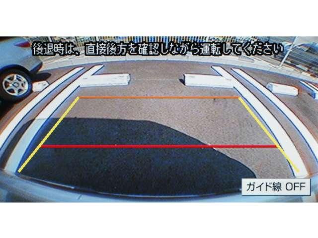 ★バックカメラを取り付けての納車となります。★バックの際も安心ですね★