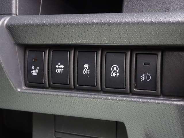 ≪シートヒーター&レーダーブレーキサポート&DSC/TCS&アイドリングストップシステム&フォグランプ≫ 快適装備や安全装備などしっかり付いております!