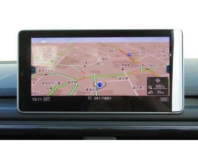 初めての場所でも安心ドライブ!ナビゲーションシステム搭載です!