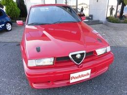 アルファ ロメオ アルファ155 V6 社外マフラー FRPボンネット LTDバンパ