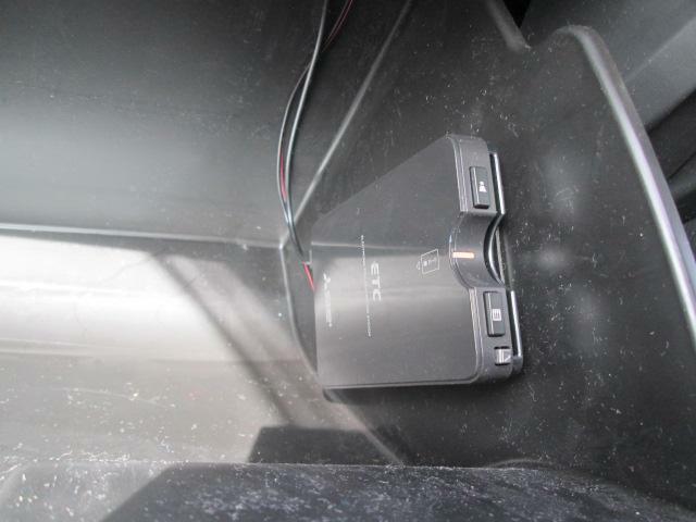 ETC車載機は専用ボックスに取り付けてあります。