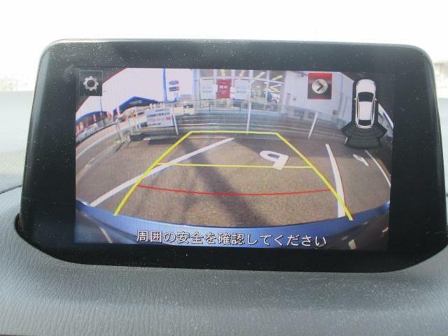 バックカメラも装備されていますので、駐車場での取り回しも安心です!バックカメラの映像はナビへと映し出されます。大きな画面で確認ができて安心です!