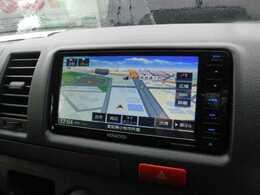 新品SDナビを装備でロングドライブも快適です。フルセグTV視聴可能!