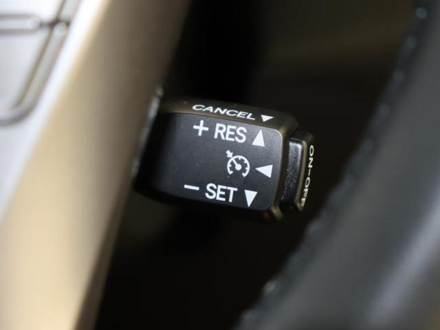 高速走行に便利なクルーズコントロール付き。