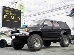 トヨタ ハイラックスサーフ 5ドア3.0DT SSR-Xリミテッド ワイド4WD リフトアップ・ディーゼルT・1ナンバー登録