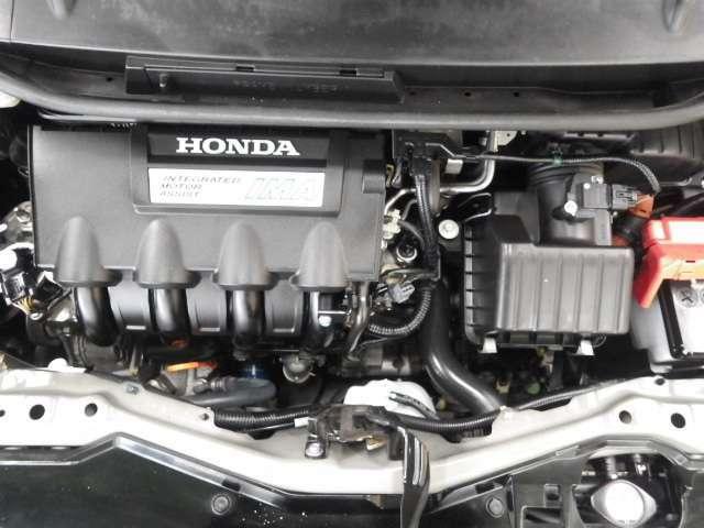 整備されて綺麗なエンジン