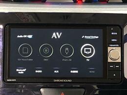 地図やTVなどのオーディオ機能も充実しているので、快適なドライブができます♪