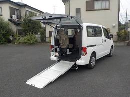日産 NV200バネットバン 1.6 チェアキャブ 車いす1名仕様 専用サードシート有 車いす仕様車・ガソリン・2WD