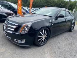 キャデラック CTS 3.6 黒革車高調20AWタイヤ・ヘッドライト新品