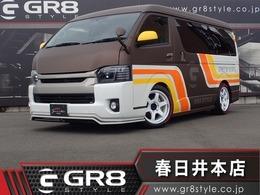 トヨタ ハイエースバン 3.0 スーパーGL ワイド ロング ミドルルーフ ディーゼルターボ GR8デモカー 大阪オートメッセ出展車
