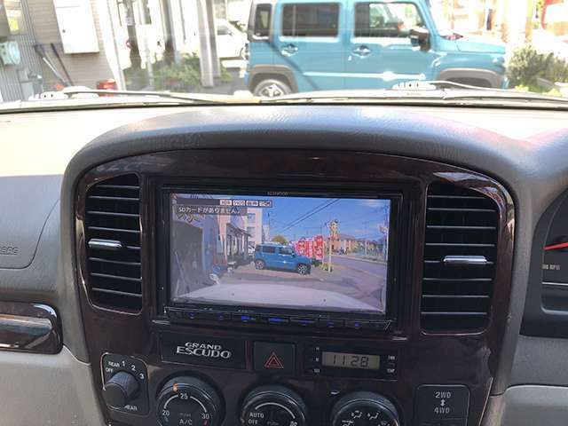 ドライブレコーダーの画像がナビ画面に映る!