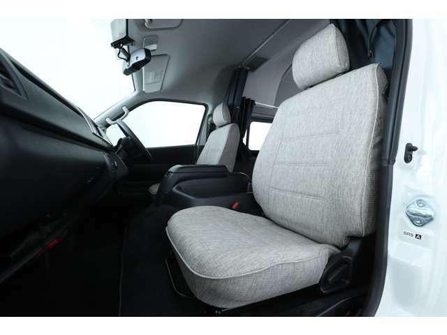 運転席・助手席 シート張替え済み♪張替えは、オプション装備となっております!