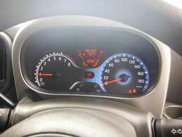 みやすいスピードメーター