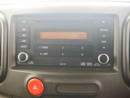 AM/FMチューナー一体CDプレーヤーを装備