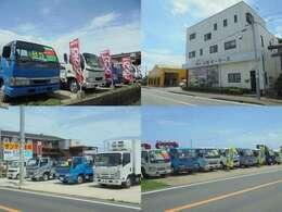 当社は千葉県銚子市にて、営業しております。中古車は、トラックを中心に、軽自動車から乗用車まで、何でも取り扱っております。