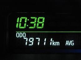 走行距離はおよそ80,000kmです。