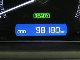 走行距離はおよそ98,000kmです。