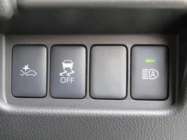 プリクラッシュセーフティーシステムです。万が一よそ見をしてぶつかりそうになっても、知らせてくれます♪もちろん、安全運転は忘れずに。Eーアシスト付きです!