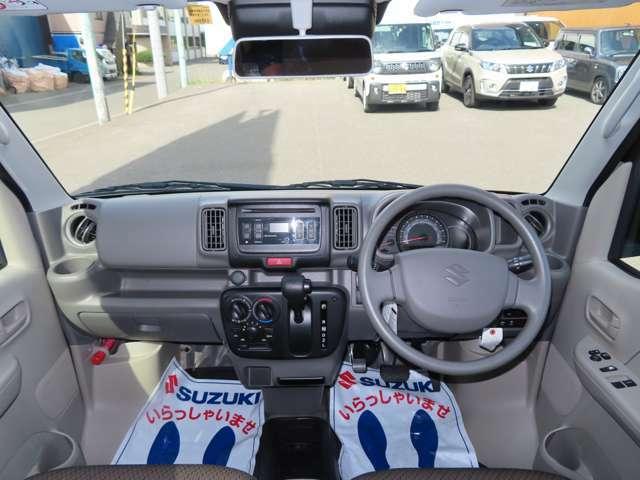 遠くまで見渡せる安心感。いつもの運転に大きなゆとりが生まれるお車!