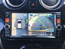 【全方位カメラ】車を真上から見下ろしたように駐車をすることが可能です!車の死角を前後左右・上からカバーしてくれます!安心して縦列駐車をすることが出来ますね♪