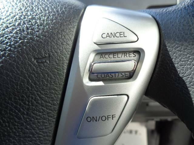 クルーズコントロール搭載☆ 長距離ドライブの疲労軽減に活躍してくれます♪