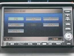 純正HDDナビです。DVD/CD再生のほかにもミュージックサーバーも装備されとっても便利です!