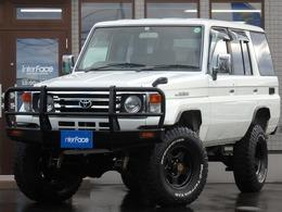 トヨタ ランドクルーザー70 4.2 LX ディーゼル 4WD 西日本仕入マニハブ足回り公認済みブラV