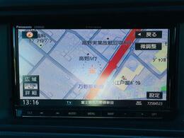 【社外メモリナビ】運転がさらに楽しくなりますね♪◆フルセグTV◆DVD再生◆Bluetooth