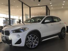 BMW X2 xドライブ20i MスポーツX 4WD 黒革ACC社外TV電動リアBカメラ電動シート