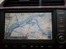 純正HDDインターナビ、とても見やすく手前にあるスイッチでサクサク操作可能です。