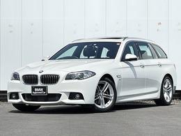 BMW 5シリーズツーリング 523d Mスポーツ ディーゼルターボ サンルーフ 黒革 ACC ヘッドアップD