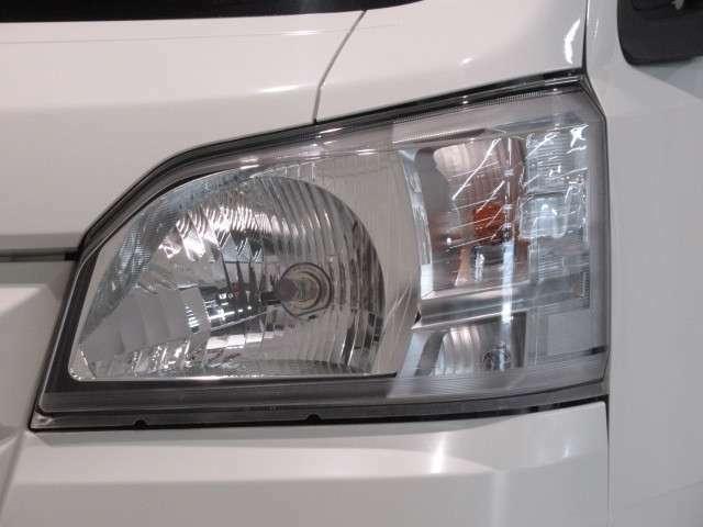 ☆ヘッドライト☆ハロゲンタイプのヘッドライトで夜道も明るく照らします!