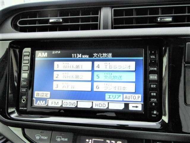 【HDDナビ装備!】DVD再生&音楽サーバー&バックカメラ機能も付いてます☆
