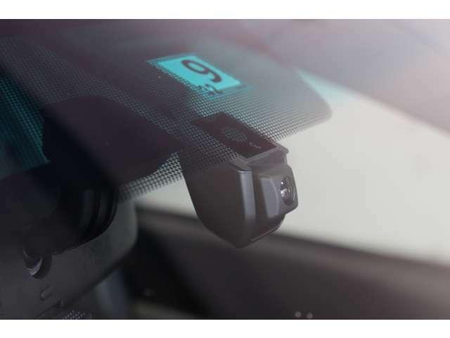 ●ドライブレコーダーが装着されていますのでいざという時も安心です。