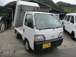 ホンダ アクティトラック ダンプジュニア 4WD 68000km エアコン付 MT