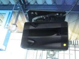 コムテック製、フロントドライブレコーダー付。HDR-102。