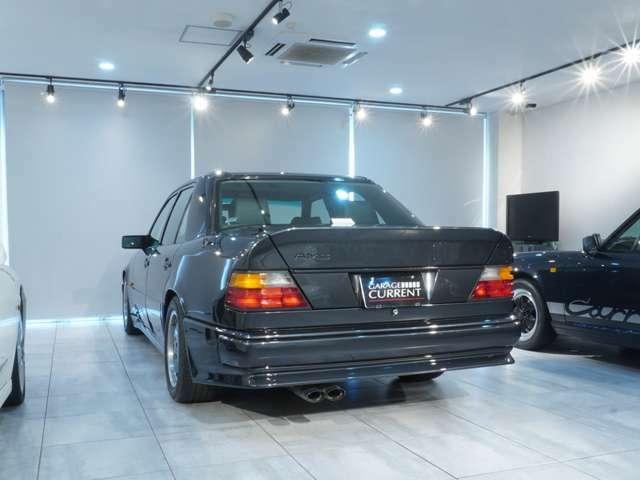 1991年 AMG 300E 3.4-4V/ディーラー車/AMGジャパン物/生産終了モデル/実走行52,000km/左ハンドル/4速AT/