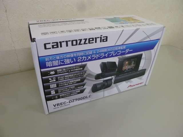 VREC-DZ700DLC フロント&リアの2カメラタイプです。