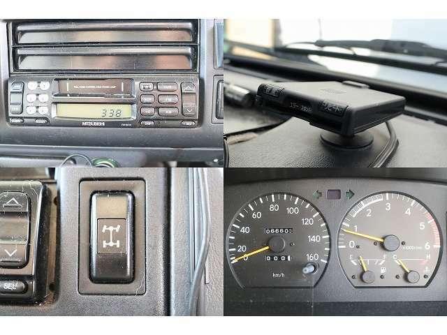 ラジオ ETC 4WD切り替えスイッチ