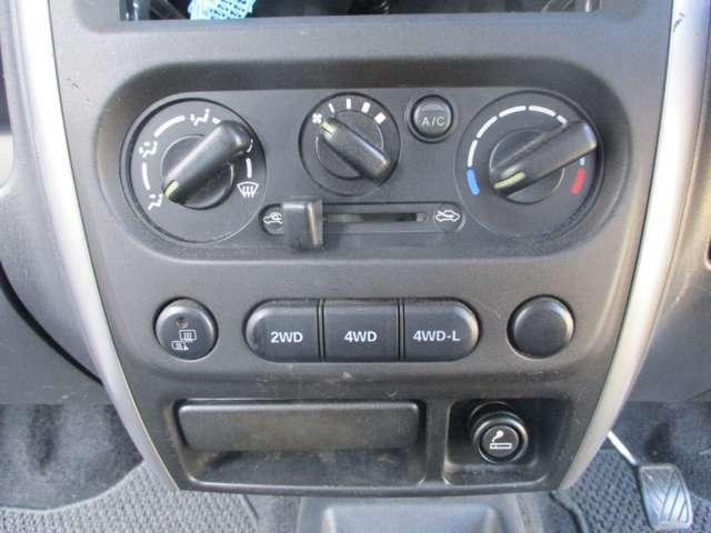 4WDの切り替えスイッチです☆