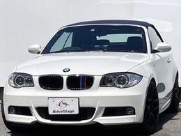 BMW 1シリーズカブリオレ 120i Mスポーツパッケージ HDDナビ・地デジ/本革/社外18AW