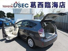 トヨタ プリウスα 1.8 S ウェルキャブ 助手席リフトアップシート車 Bタイプ リアクレーン TSS無 スマートキー