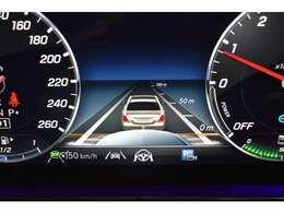 ディスタンスパイロット機能!先行車を認識し速度に応じ車間を維持します。車線のカーブと先行車両を、車線が不明瞭な道ではガードレールなどを認識し、車間を維持しながらステアリング操作をアシストします。