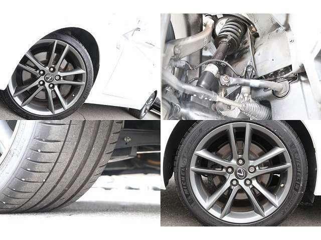 Fスポーツ専用アルミ  225/40/18 2019・2017年製年製タイヤ