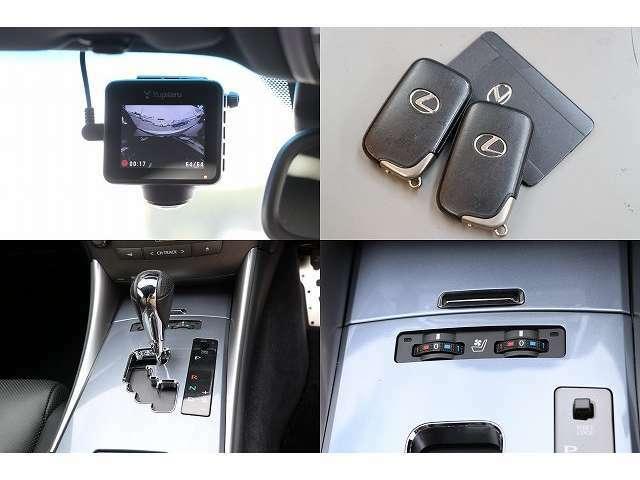 ドライブレコーダー スマートキー&カードキー エアシートスイッチ マニュアルモード付オートマ